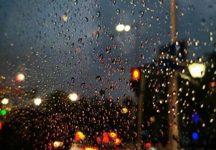 伤感迷人的雨夜