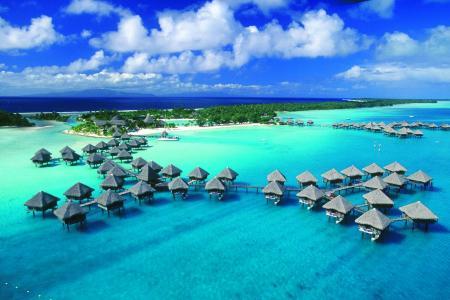 热带度假村壁纸
