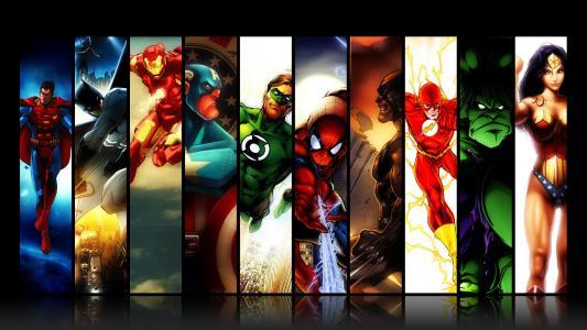 超级英雄高清壁纸