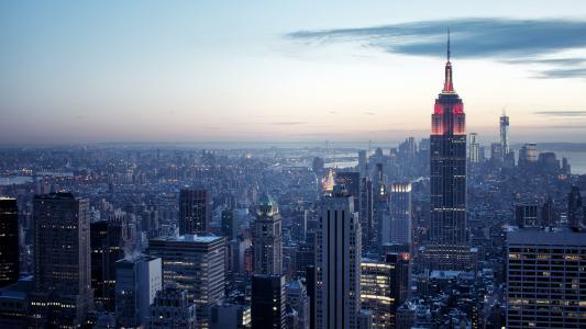 纽约摩天大楼高清壁纸