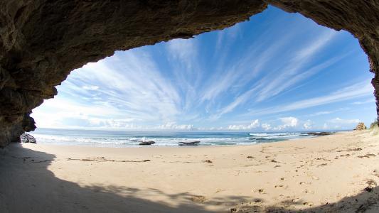 洞穴高清壁纸