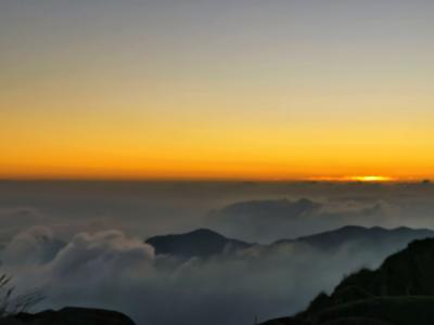 夕阳黄昏唯美景色