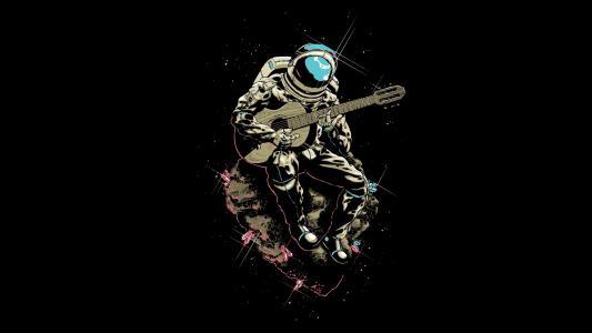 太空吉他手高清壁纸