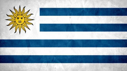 乌拉圭国旗高清壁纸