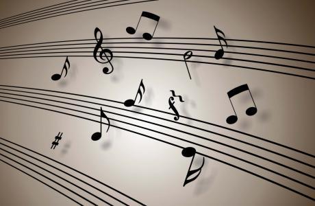 音乐笔记壁纸