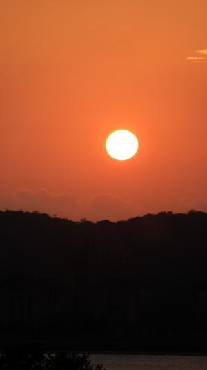 唯美迷人的落日风光