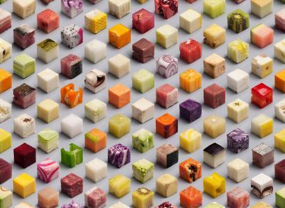 小食品的多维数据集壁纸