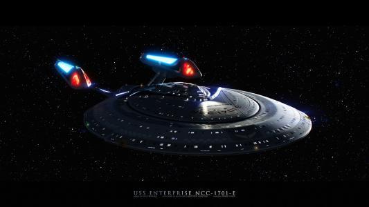 Uss Enterprise 1701 E高清壁纸