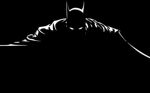 蝙蝠侠剪影壁纸