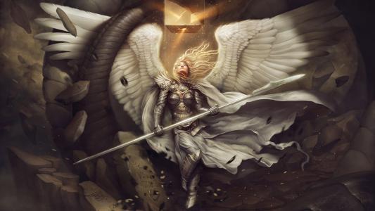 天使高清壁纸