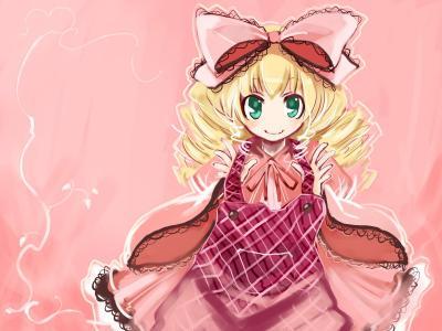 蔷薇少女壁纸