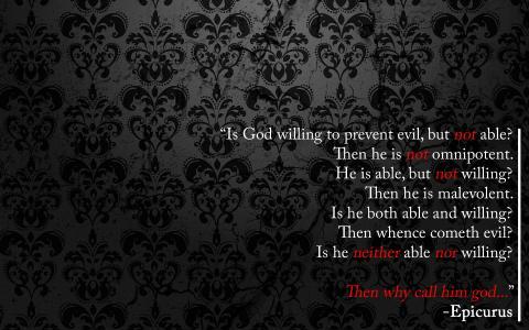 无神论者壁纸