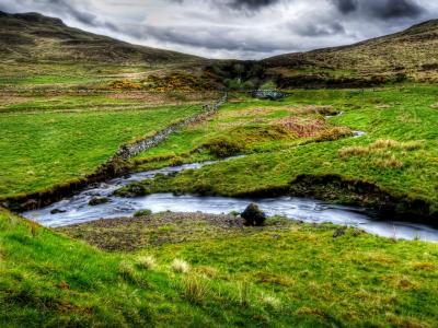 苏格兰风景壁纸