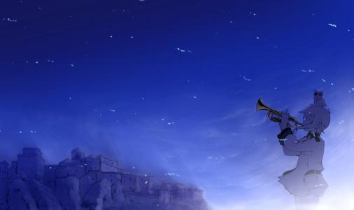 天空之音(天空之鸟)壁纸