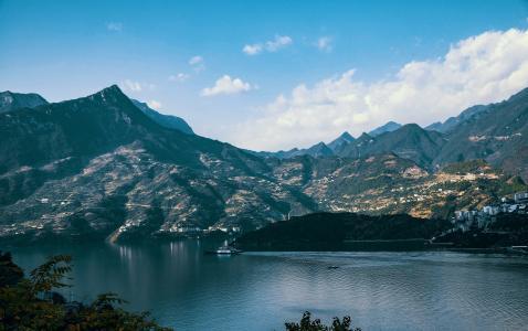 宜昌西陵峡优美风光