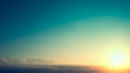 夕阳高以上壁纸
