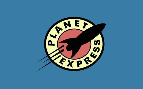 星球快车标志壁纸