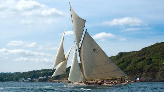帆船高清壁纸