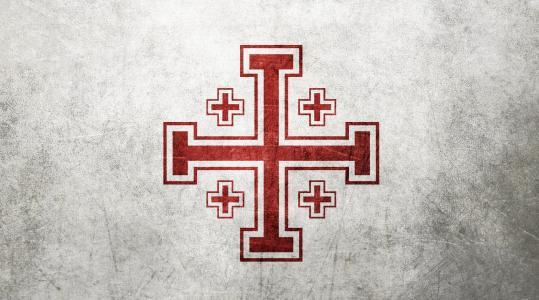 耶路撒冷十字墙纸