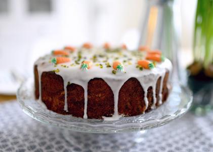 香甜诱人的蛋糕