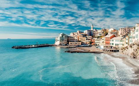 风景宜人的海边小镇
