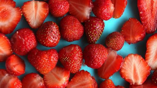 美味可口的草莓