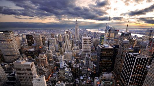 城市景观高清壁纸