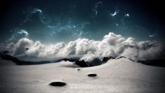 云和星星高清壁纸
