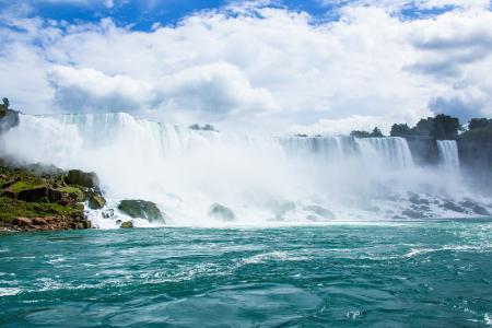 尼加拉大瀑布震撼壮观美景