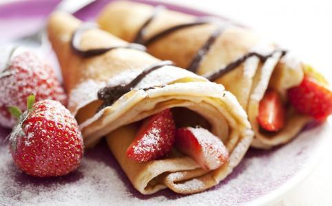 草莓煎饼壁纸