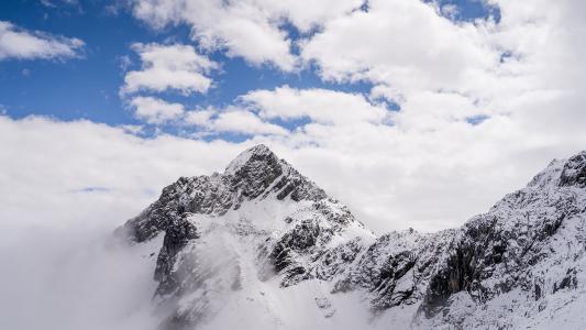 玉龙雪山唯美迷人风光