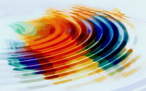 多彩的抽象壁纸
