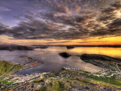 景观Rypefjord壁纸