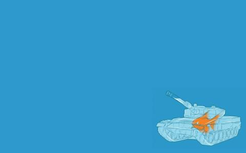坦克水族馆壁纸