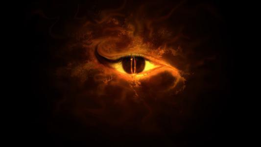 邪恶的眼睛壁纸