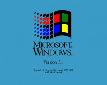 Ms Windows 3.1壁纸