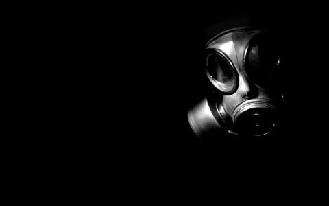 防毒面具壁纸