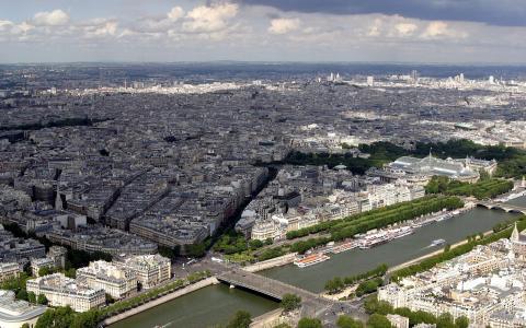 城市景观壁纸