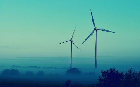 风力涡轮机壁纸