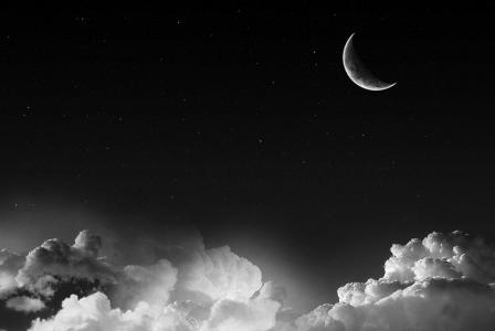 星星和月光壁纸