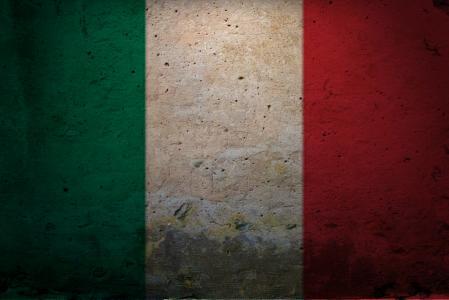 意大利壁纸的旗子