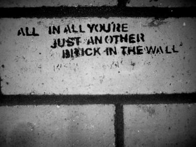 只是另一个砖墙壁纸