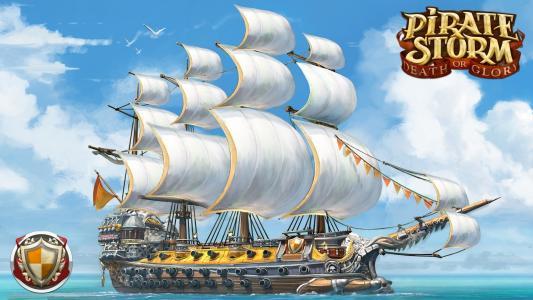 海盗风暴高清壁纸