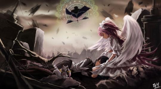 魔法少女圆冈魔法师壁纸