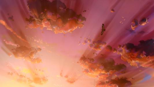 日落云高清壁纸