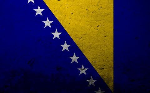 波斯尼亚国旗壁纸