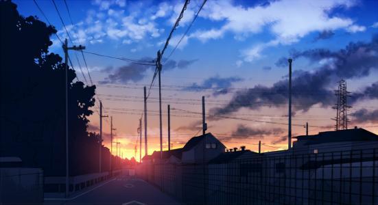 日本城市景观壁纸