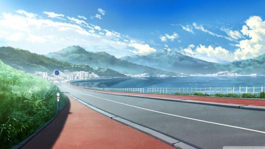 动漫日本城市景观壁纸
