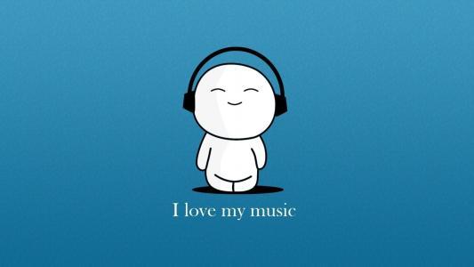 我爱音乐高清壁纸