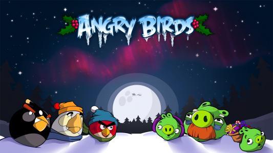 愤怒的小鸟高清壁纸